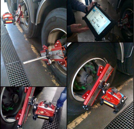 Відновлення співвісності вантажних автомобілів
