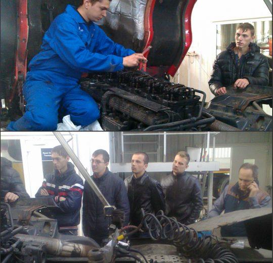 Технічне обслуговування двигуна